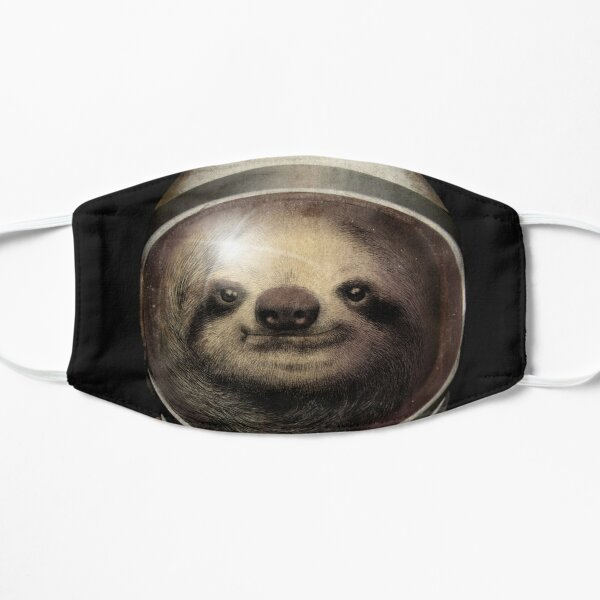 Space Sloth Flat Mask