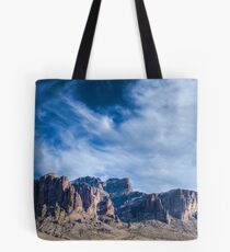 Superstition Mountain Arizona Tote Bag
