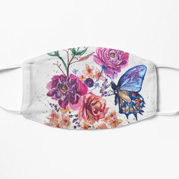 Flower Power Against - COVID19 Mask