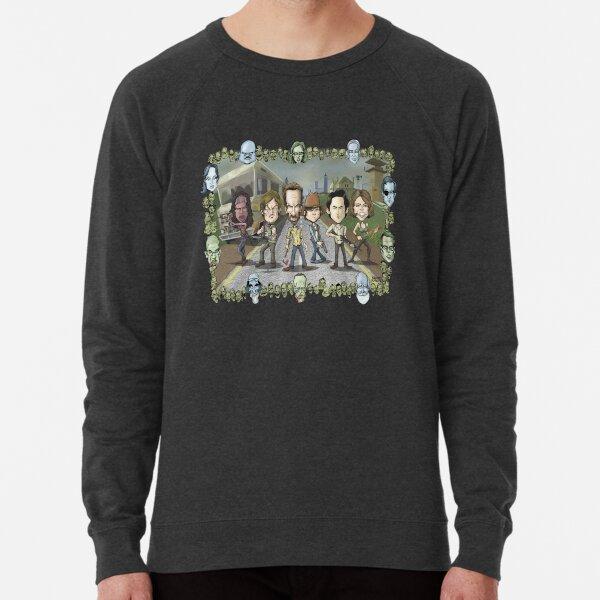 The Walking Dead by Kenny Durkin Lightweight Sweatshirt