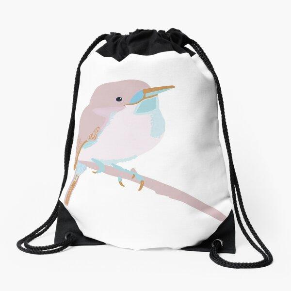 Birds on birds Drawstring Bag
