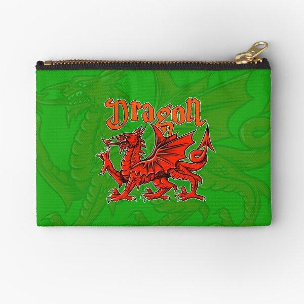 """""""Dragon"""" mask 017 Zipper Pouch"""
