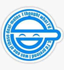 Ghost in the Shell - Laughing Man Sticker