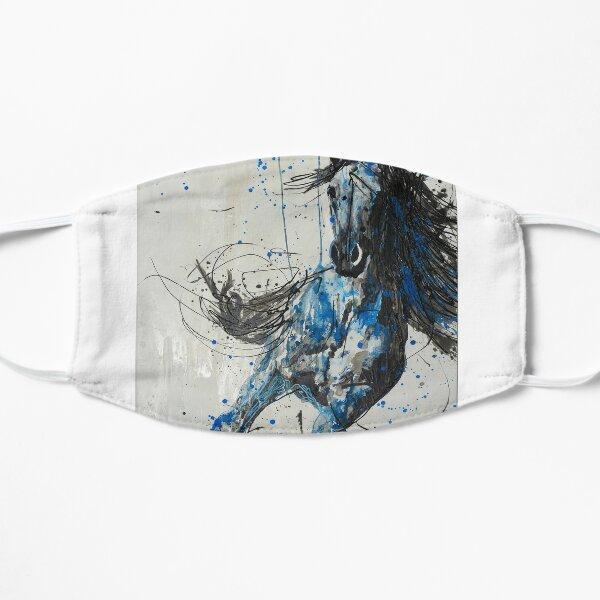 Blue Horse Mask