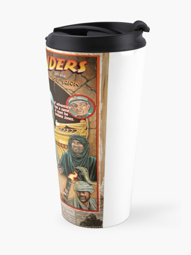 Alternate view of Raiders of the Lost Ark Travel Mug