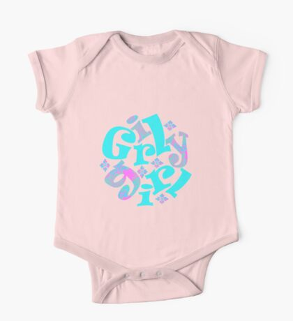 girly girl japanese print Kids Clothes