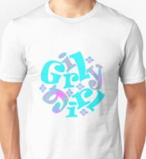 girly girl japanese print T-Shirt