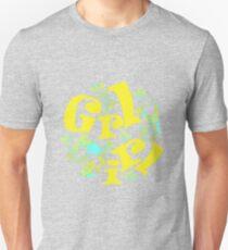 girly girl in yellow Unisex T-Shirt