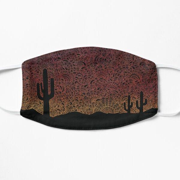 Arizona Sunset Flat Mask