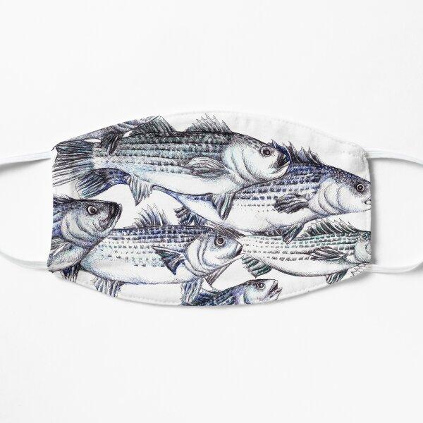 """""""Old School"""" Striped Bass Tuschezeichnung Maske"""