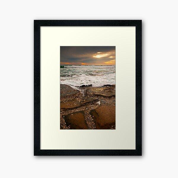 Jakes Point - Kalbarri Framed Art Print