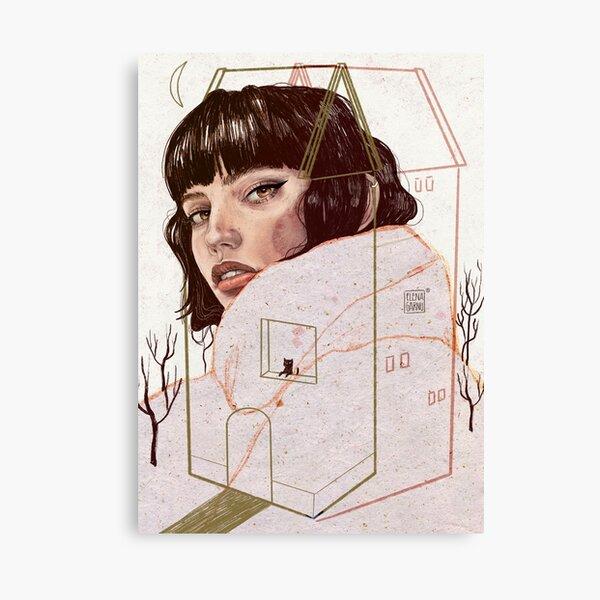 CONFINED Canvas Print
