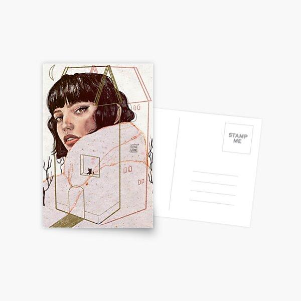 CONFINED Postcard