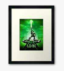 LINKTRON - Movie Poster Edition Framed Print