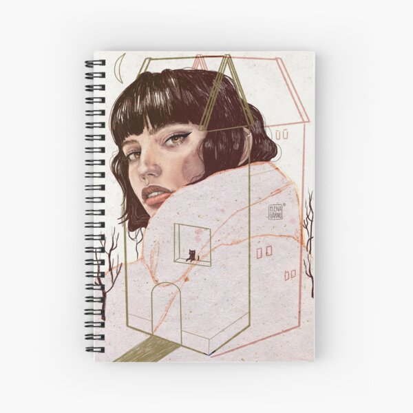 CONFINED Spiral Notebook