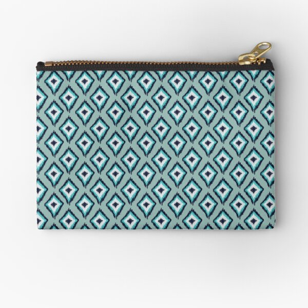 Sofishticated Ikat Zipper Pouch