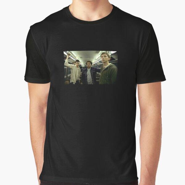 SUPERBAD Train Scene Still Graphic T-Shirt