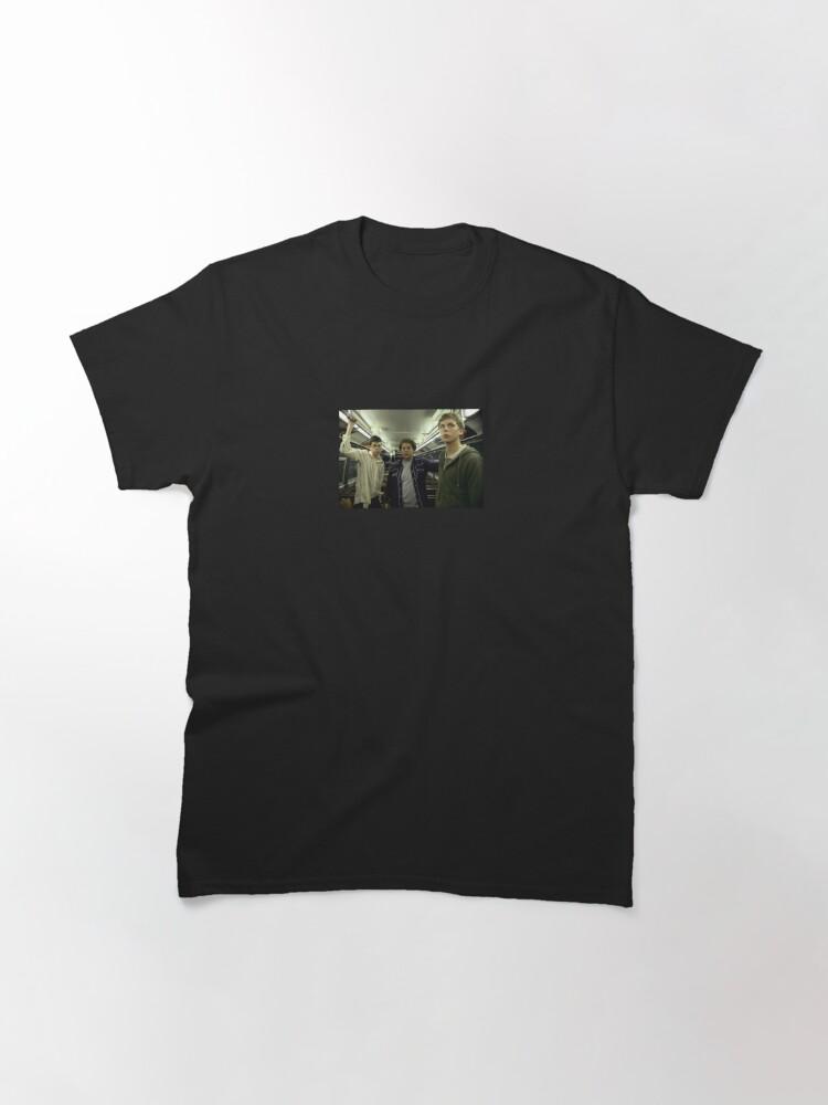 Alternate view of SUPERBAD Train Scene Still Classic T-Shirt