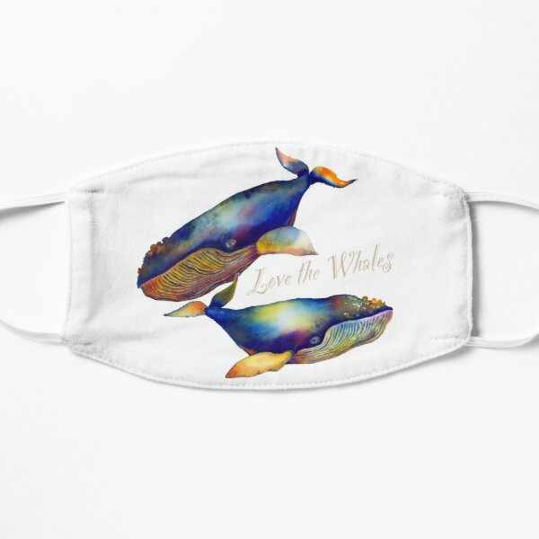 Love the Whales Mask