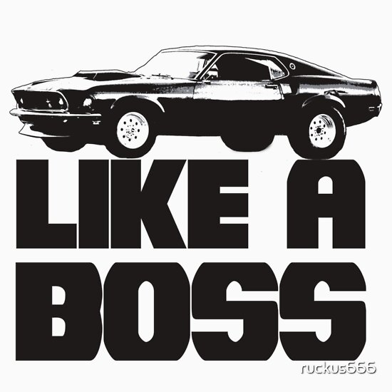 TShirtGifter presents: Like a Boss