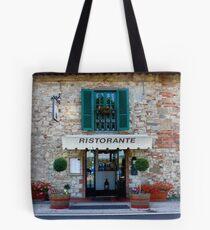 Tuscan Restaurant Tote Bag