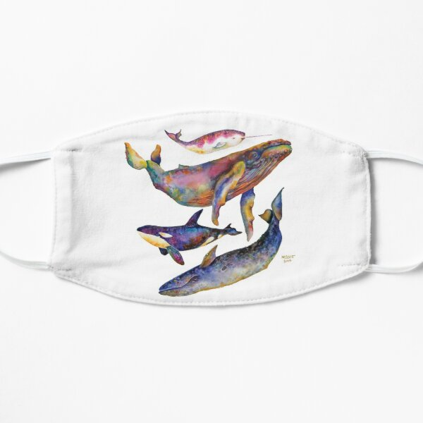 Four Whales Pyramid Mask