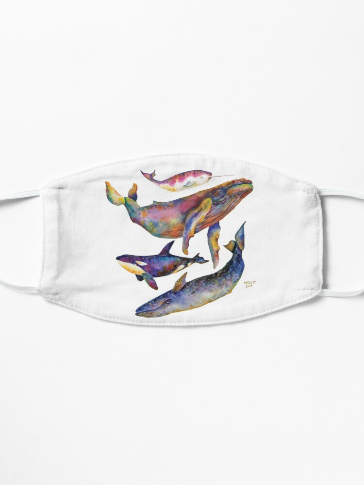 Alternate view of Four Whales Pyramid Mask