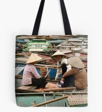 Tam Coc Chatter Tote Bag