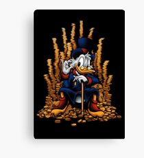 Game of Coins (Alternate) Canvas Print