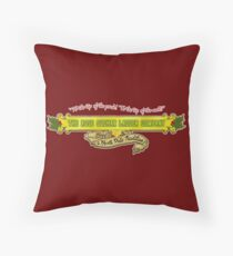 the Rose Suchak Ladder Company Throw Pillow