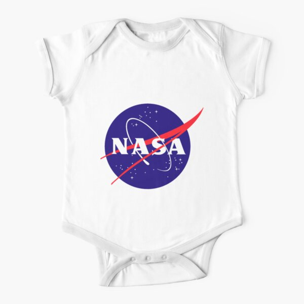 Official NASA (meatball) Logo Short Sleeve Baby One-Piece