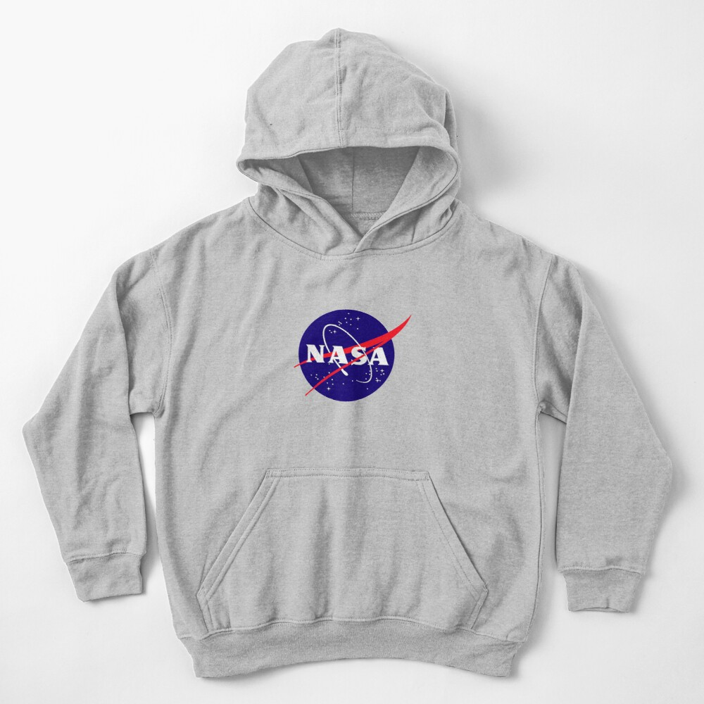 Official NASA (meatball) Logo Kids Pullover Hoodie