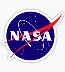 Official NASA (meatball) Logo Sticker