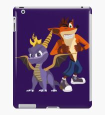 Orange & Purple iPad Case/Skin