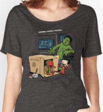 Scientific Bro-gress Goes Boink Women's Relaxed Fit T-Shirt