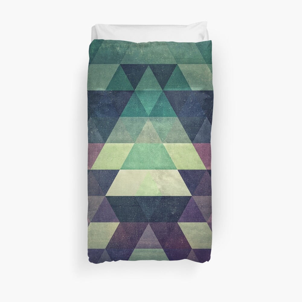 59 // dysty_symmytry Duvet Cover
