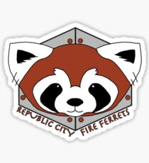 Fire Ferrets - Pro Bending League - Legend of Korra Sticker