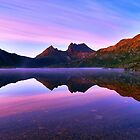 Purple Dawn, Cradle Mountain by bevanimage
