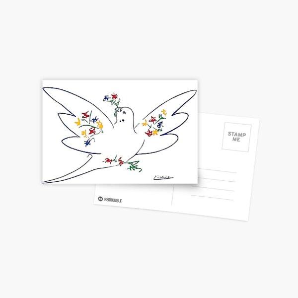 Colombe de la paix Picasso Carte postale
