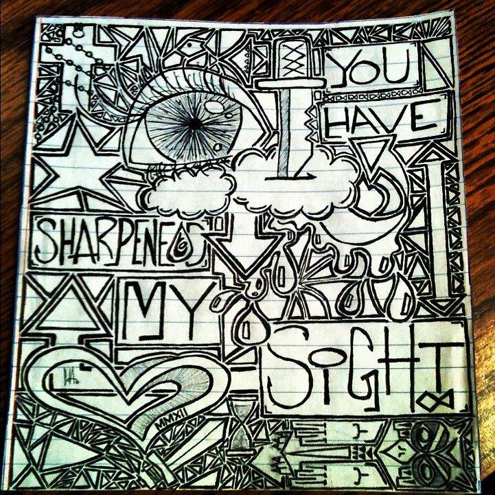 You Have Sharpened My Sight by Garrett Hanson