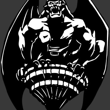 Gargoyles Goliath - Black and White  by 319media