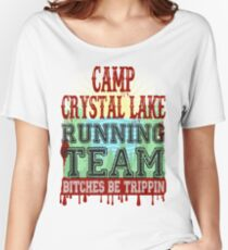 Camp Crystal Lake Running Team Women's Relaxed Fit T-Shirt