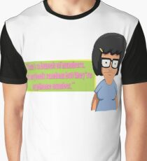 Tina Belcher -Phone Number Graphic T-Shirt