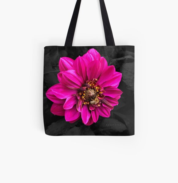 Busy Bee Fashion and Home Decor All Over Print Tote Bag