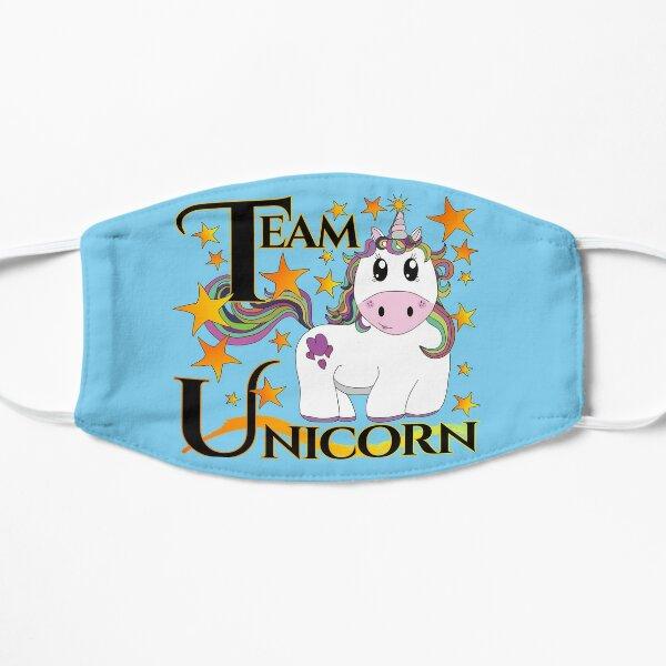 Baby Blue Team Unicorn #unicornobsessed Mask