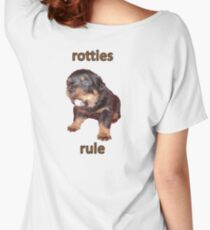Rotties Rule Women's Relaxed Fit T-Shirt