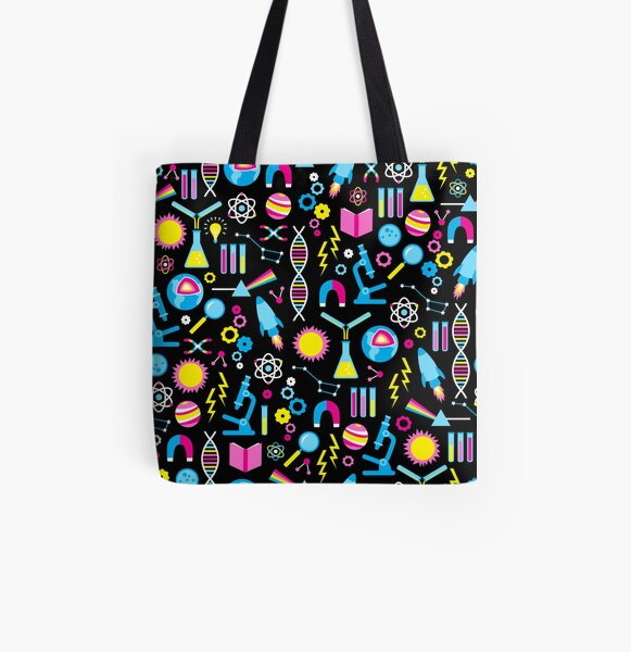 Science Studies All Over Print Tote Bag