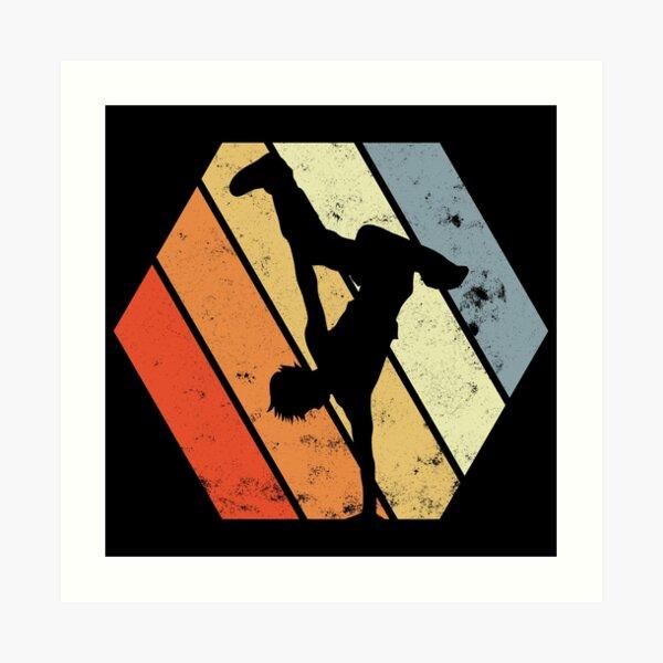 Breakdancer Art Print