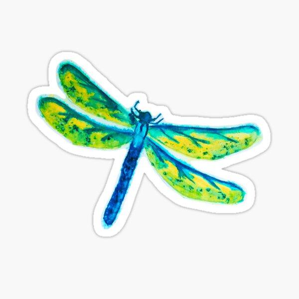 Sam the Dragonfly Sticker