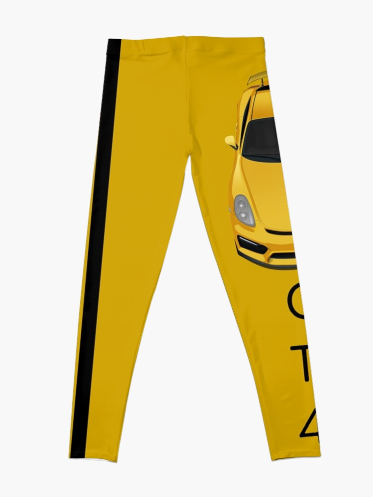 Alternate view of 4 shades of yellow Leggings